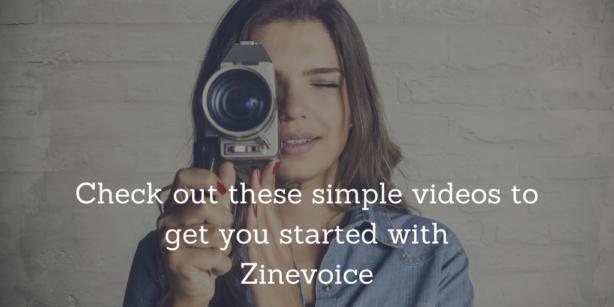 Zinevoice Videos Button
