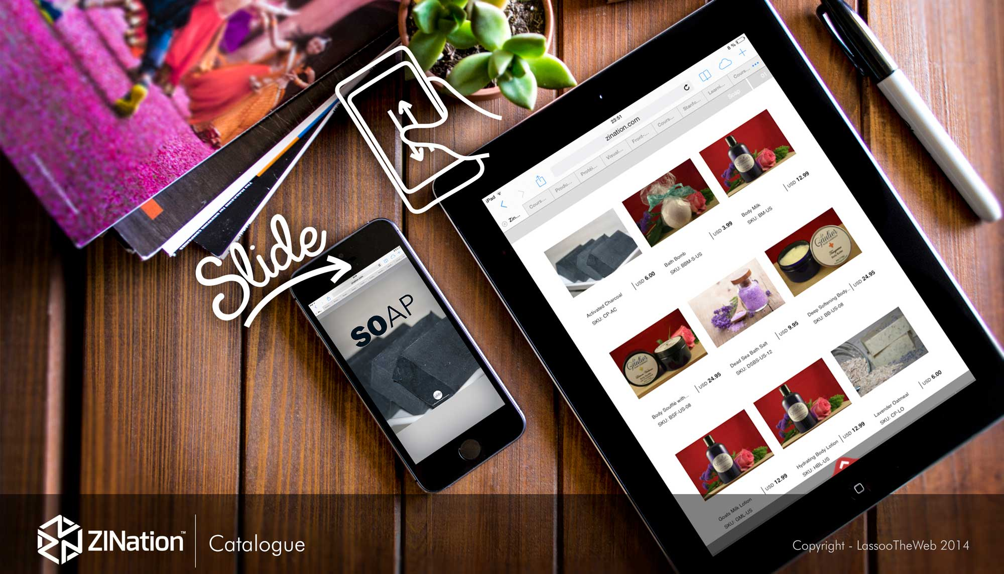 automatic catalog maker app for wholesale and retail ecommerce