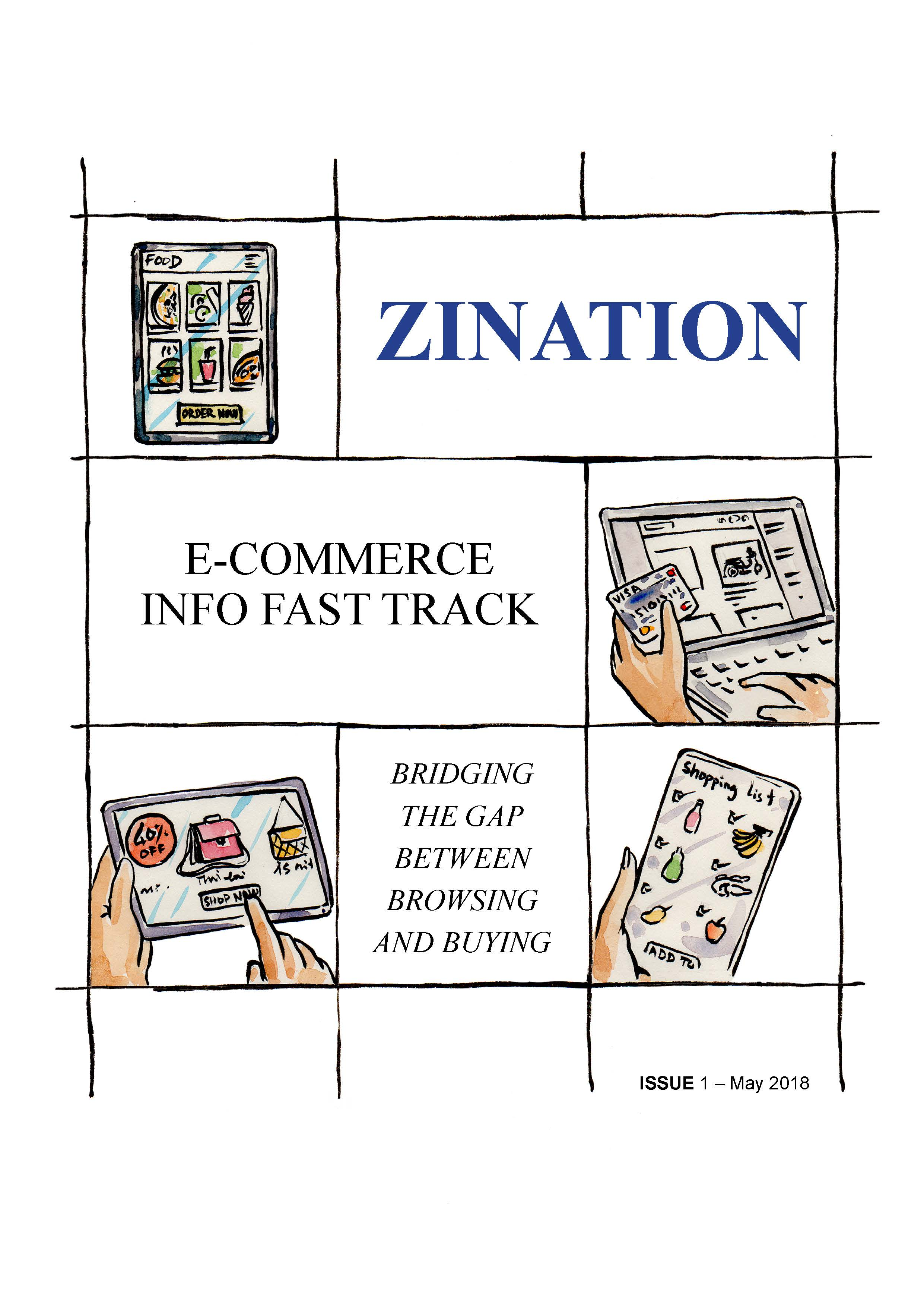 Info Fast Track ISSUE 01 - The Most Innovative Digital Publishing